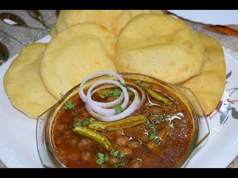 Chole Bhature Recipe | Quick and Easy