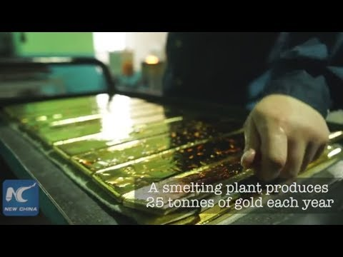 How to make gold bars