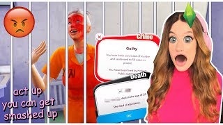Download LIFE IN JAIL?! | BitLife Controls My Sim's Life #6 Video