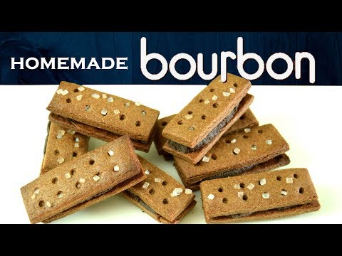 Easy Homemade Bourbon Biscuits| How to make Chocolate Cream Biscuits at home| Yummylicious