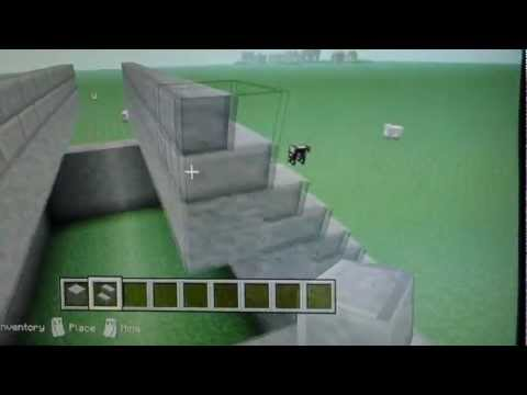 how to make a roof minecraft
