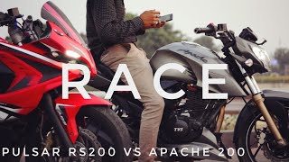 Pulsar RS 200 VS KTM RC 200 Which Is Best With Price Mileage