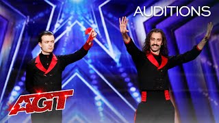 Hilarious Magic?! The Demented Brothers Perform Unique Tricks - America's Got Talent 2020