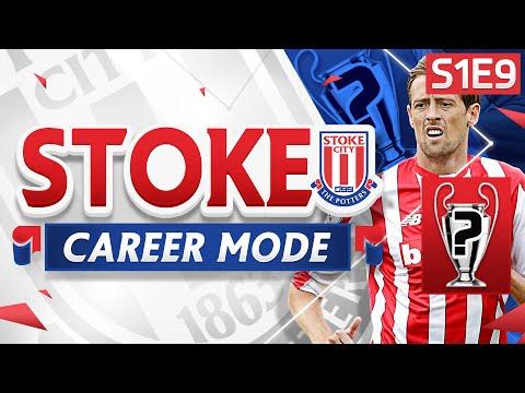 FIFA 16 Stoke Career Mode - LAST GASP WINNER! 1ST VS 2ND!  - S1E9