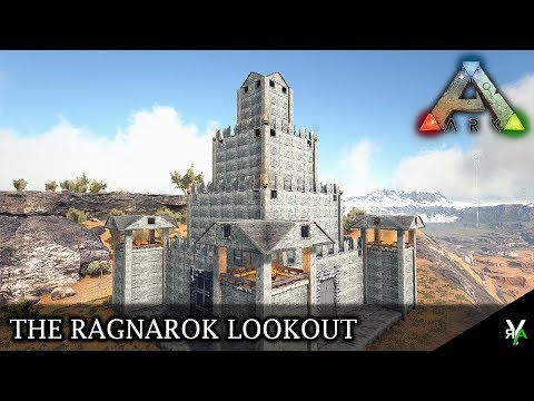 THE RAGNAROK LOOKOUT!- Ark Building Montage Monday EP 75
