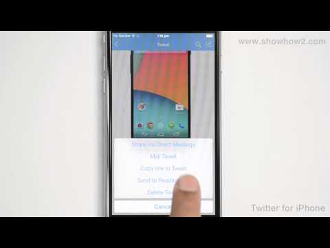Twitter For iPhone - How To Delete Your Own Tweet