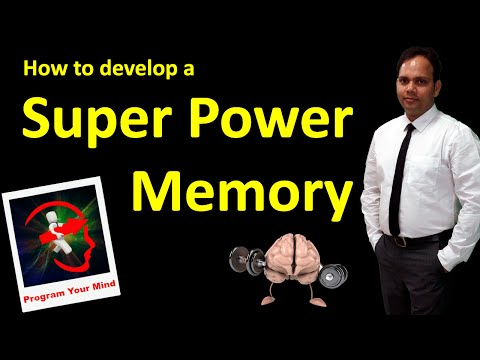 How to develop a Super Memory Power | VED |
