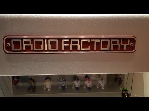 Star Wars Droid Factory @ Disneyland Paris [Build your own R2D2]