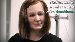 Nadine, le robot terriblement plus vrai que nature