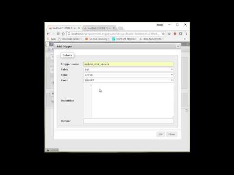 Mysql Trigger After Insert, After Delete, After Update & Before Update