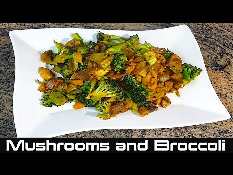 How To Cook Mushroom And Broccoli Sauteed Mushrooms And Broccoli Reci