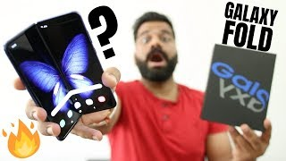 Samsung Galaxy Fold Unboxing & First Look - Future is Here🔥🔥🔥