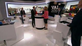 Jimmie Åkesson utmanar Annie Lööf - Nyheterna (TV4)