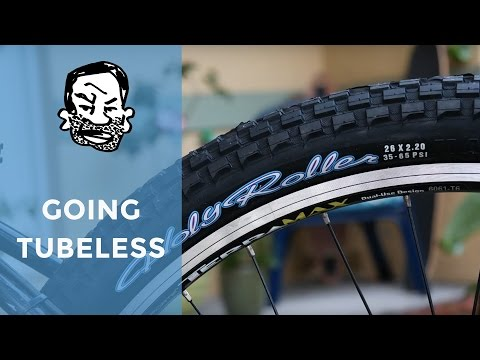 Tubeless Conversion on Maxxis Holy Rollers
