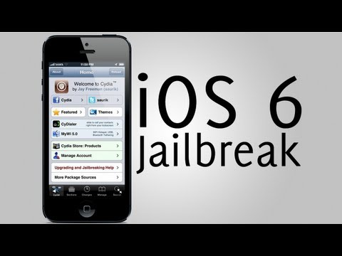 JAILBREAK iOS 6 SEMI UNTETHERED  iPhone 3Gs, iPhone 4, iPod Touch 3rd gen, iPod Touch 4th gen