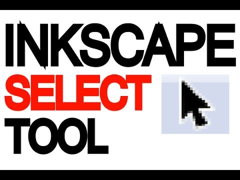 Inkscape Tutorial - Select tool