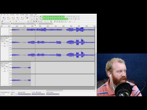 How To Do a 4 Part Multi-track Recording in Audacity in Under 15 Minutes