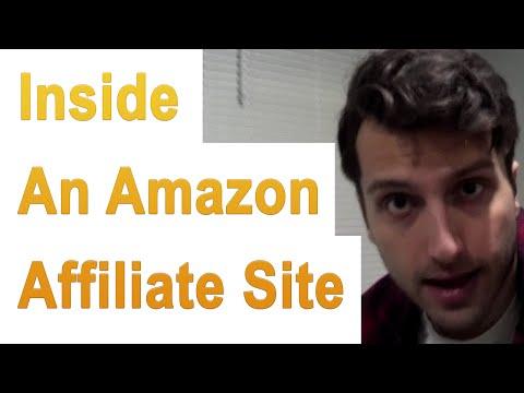 Look Inside: An Earning Amazon.com Affiliate Website