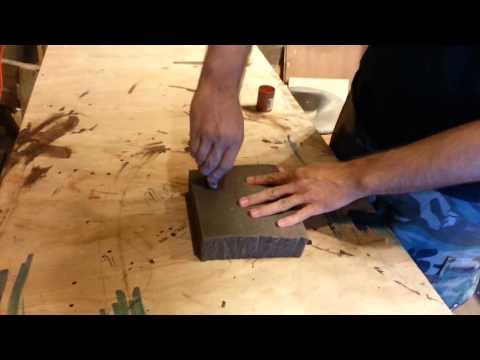 Cutting Holes in Foam