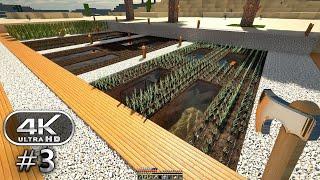 Minecraft 4K Ultra Graphics Gameplay #3 - Minecraft 4K RTX 60FPS (Minecraft Survival)