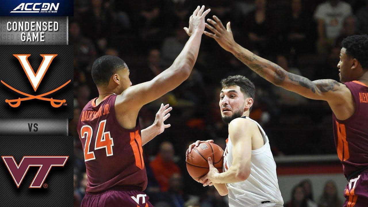 Virginia vs. Virginia Tech Condensed Game | 2018-19 ACC Basketball
