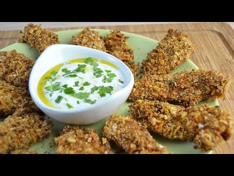 Crispy Baked Chicken Fingers - Easy Oven-Baked Breaded Chicken Strips Recipe