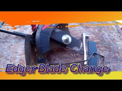 How To: Changing the Blade on a Stick Edger or Edger Attachment