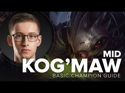 Kog'Maw Mid Poke Guide by TSM Bjergsen - Season 5 | League of Legends