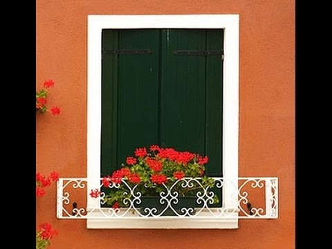 Simple Railing Revit Architecture -Floral Railing