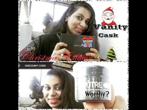 VANITYCASK🎅December 2017 Christmas Edition 🎄 Is it worthy or not?( With discount code 💲 )