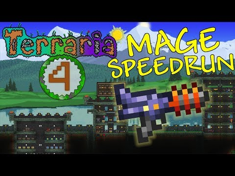 Terraria: Mage Speedrun Part 4 - SPACE GUN