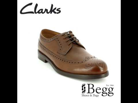 Clarks Coling Limit Tan formal shoes