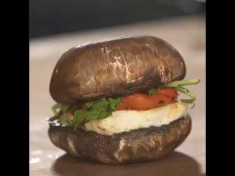 Love.ly | Grilled Halloumi Burger | Food Videos | Tasty