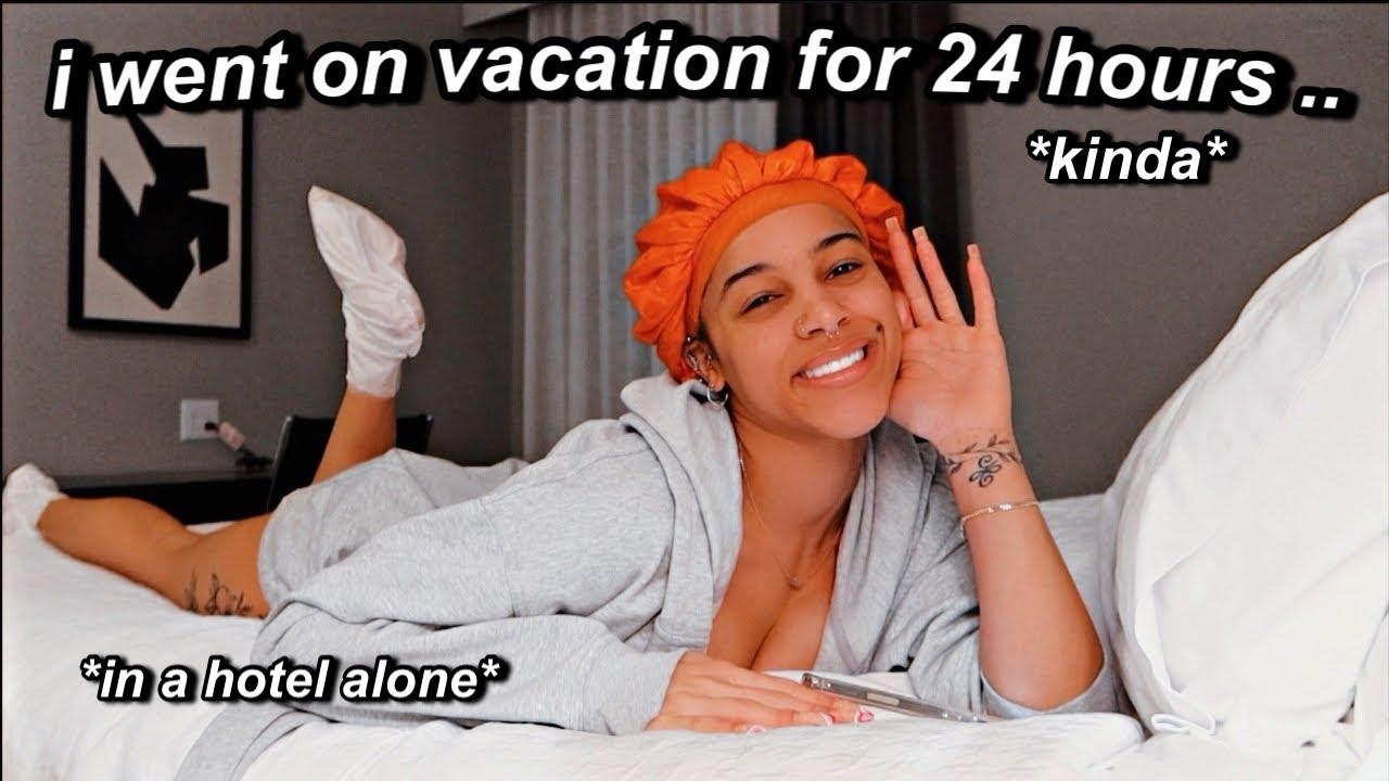 vlog: i impulsively went on vacation alone | Azlia Williams