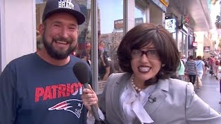 Miley Cyrus Goes UNDERCOVER On Jimmy Kimmel | What