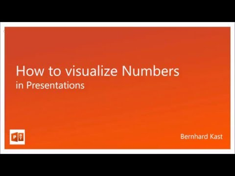 How to visualize Numbers in Presentations