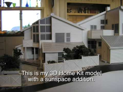 3D Home Kit model of my house in Norway