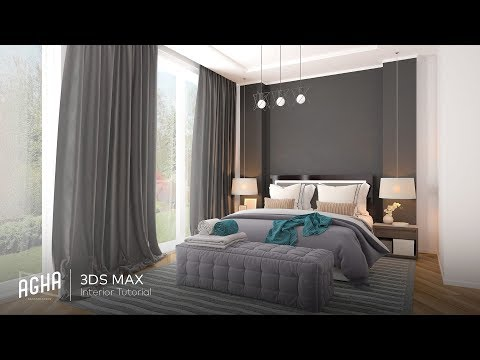 Interior Tutorial 217 3DS Max Vray Photoshop