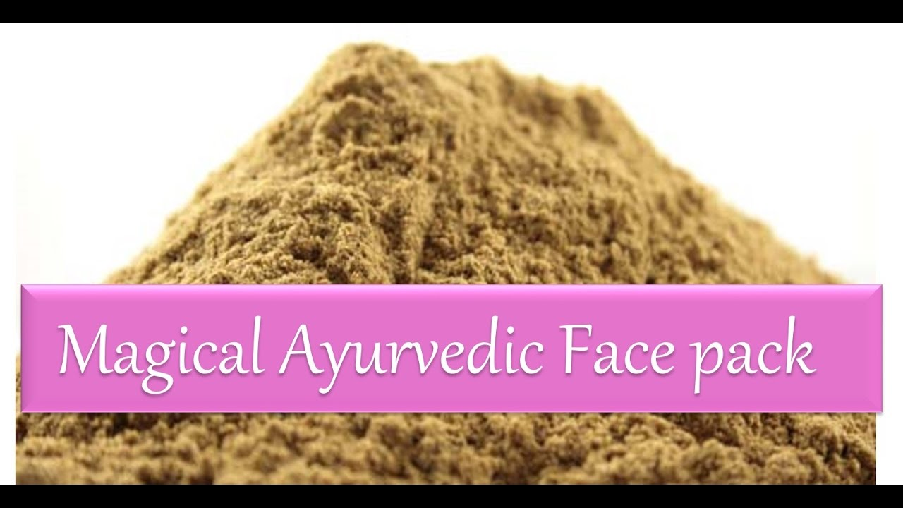 Magical Ayurvedic Herbs Face-pack  for Pimples | Fairness | Glowing Skin