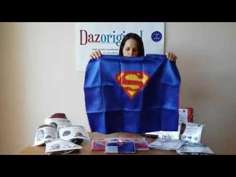 Dazoriginal Super Hero Cape and Mask Sets