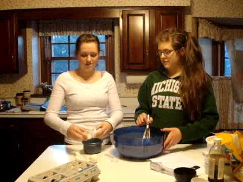 Spanish presentation-making chocolate chip cookies