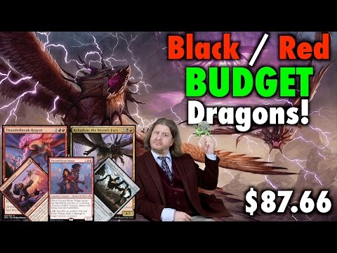 MTG - Standard B/R Dragons - A Budget Deck Tech for Magic: The Gathering
