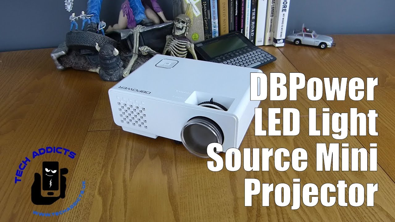 Download DBPower LED Light Source Mini Projector Unboxing MP3 Gratis