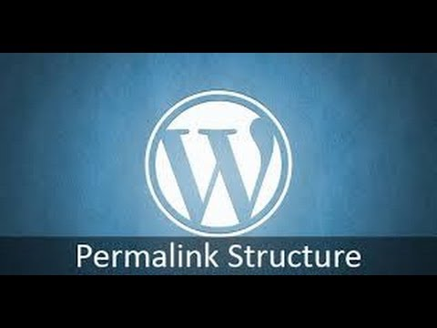 How to change Permalink Structure in WordPress for Menu