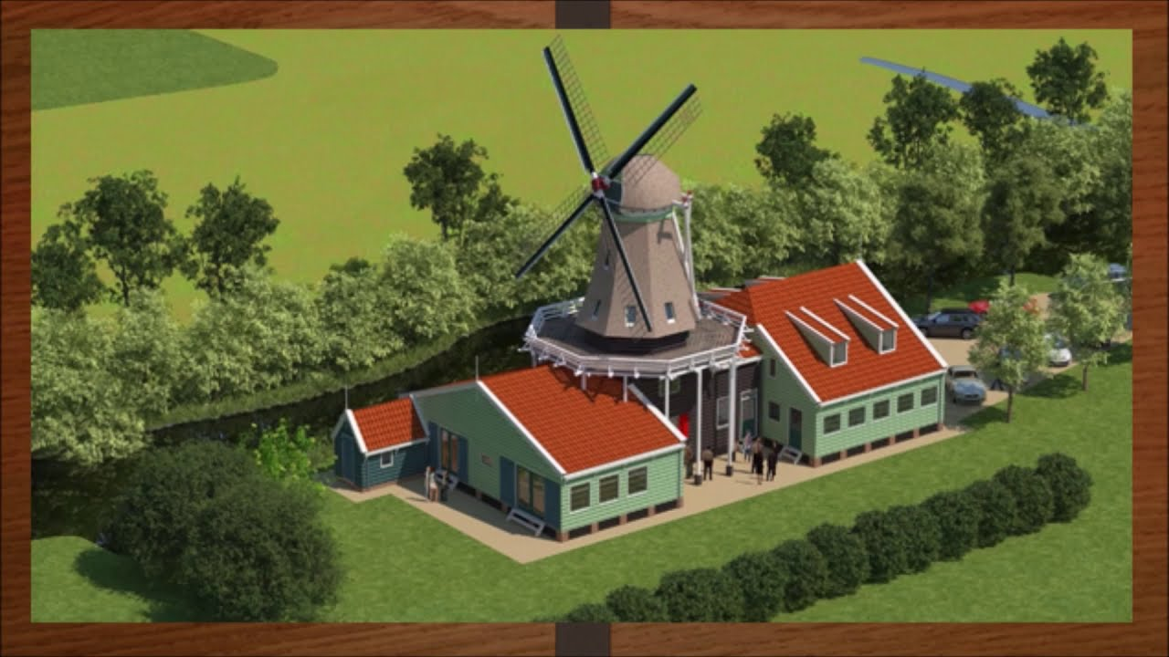 Molen De Veldmuis keert terug in Westzaan deel 16.
