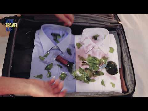 The best way to travel with wine - Wine Travel Bag