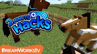How To Tame A Horse In Minecraft 2 Minute Hacks