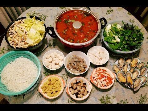 Thai Tom Yum Hot Pot Recipe