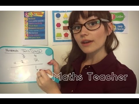 ASMR: Maths Teacher Role Play~ Soft Spoken