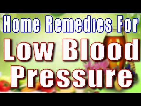 HOME REMEDIES FOR LOW BLOOD PRESSURE II निम्न रक्त चाप का घरेलु उपाय II